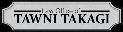 Logo - The Law Office of Tawni Takagi