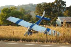 small plane accident