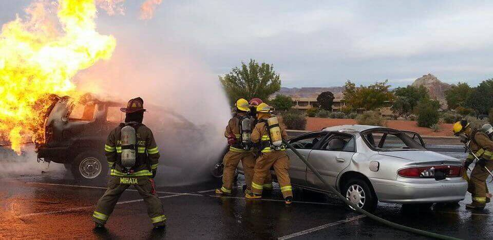 Simi Valley, CA - Car Crash Leads To Fatality For Elderly Man