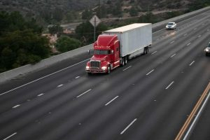 Kearny Mesa, CA - Tractor-Trailer Accident on SR-163